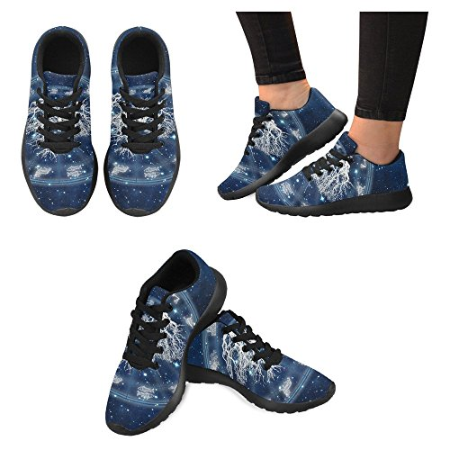 InterestPrint Womens Jogging Running Sneaker Lightweight Go Easy Walking Casual Comfort Running Shoes Multi 11 Fx76OyY