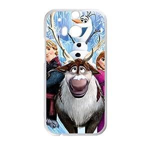 Frozen Disney Film White HTC M8 case by mcsharks