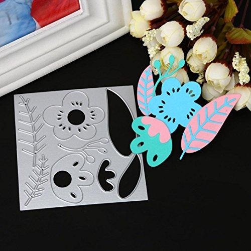 Homemade Halloween Card Sayings (Cutting Dies, Lotus.flower Merry Christmas & Halloween Metal Stencils Scrapbooking Embossing DIY Crafts Different Patterns (B))