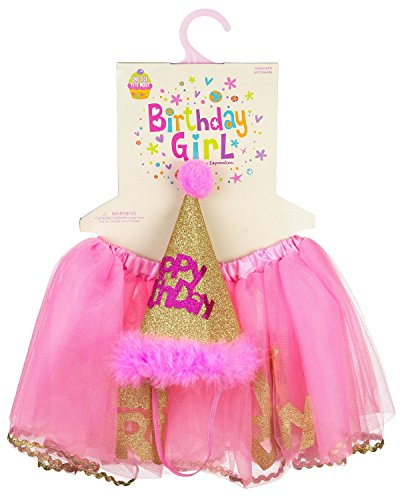 Expressions Birthday Girl Princess Dress-Up Set (1 Piece)...