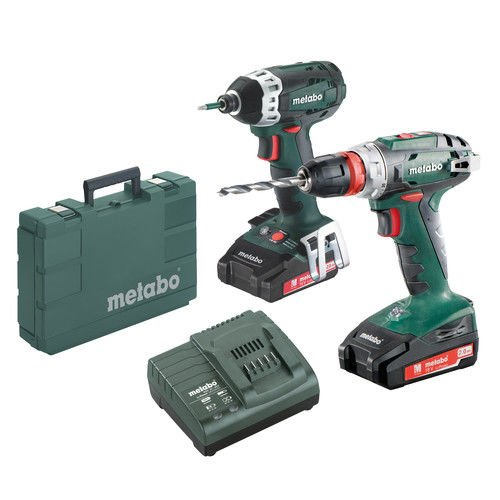 Metabo 18V Drilll/Driver Combo 2.0Ah Kit