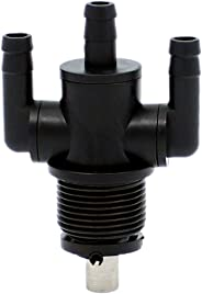 Yingshop 2-Way Fuel Pump Shut Off Valve Petcock fits Polaris 7052159 Sportsman 400 500 600 700 2004 2005 Diesel 455 1999 2001 2WAY