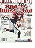SPORTS ILLUSTRATED, COLLEGE FOOTBALL PREVIEW, 2013 (28 PAGES OF SCOUTING REPORTS