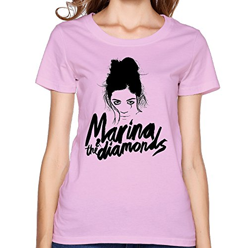 T Shirts 100% Cotton Marina And The Diamonds Brand NewWomens Hip Hop
