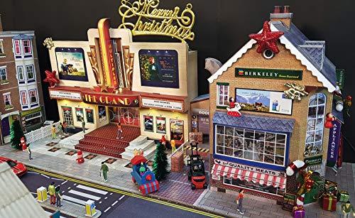 O Gauge 1:48 Scale Corner SUPERMART Cardboard Model Making Kit The  CityBuilder Model Railroad Building