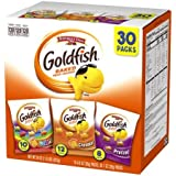 Pepperidge Farm, Goldfish, Crackers, Classic Mix, 29 oz, Variety Pack, Box, Snack Packs, 30 count - 2 pack