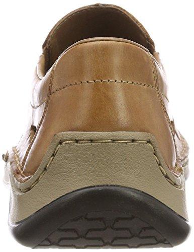 Rieker Men 05266 Pantofola Marrone (caramella Mou)