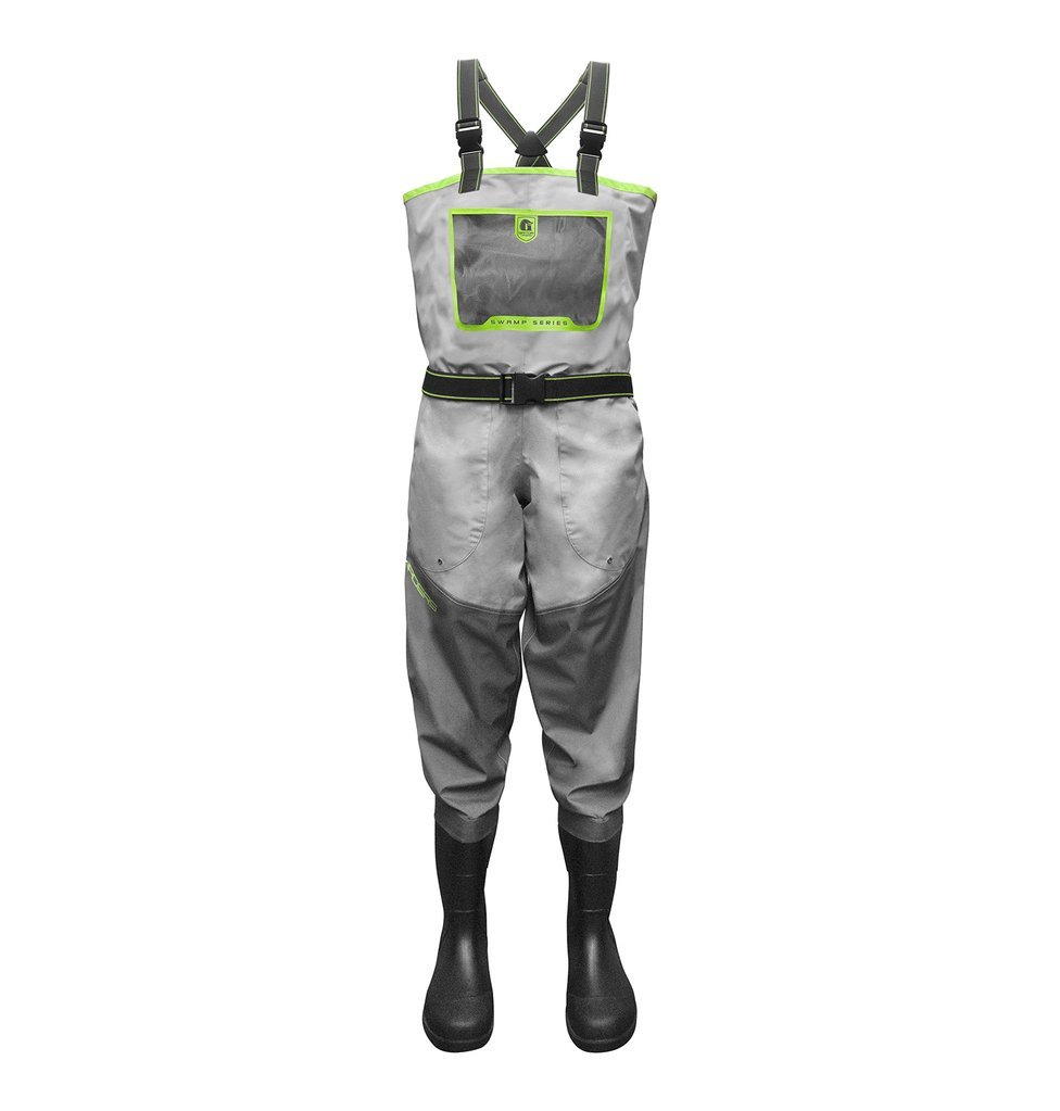 Gator wader-women 's Swampシリーズ通気性uninsulated-lime B07B5FQBF1 XL 8