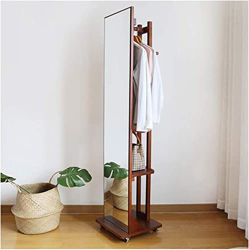 Topyi Multifunctional Full Length Mirror Standing Floor Mirror 66 x15