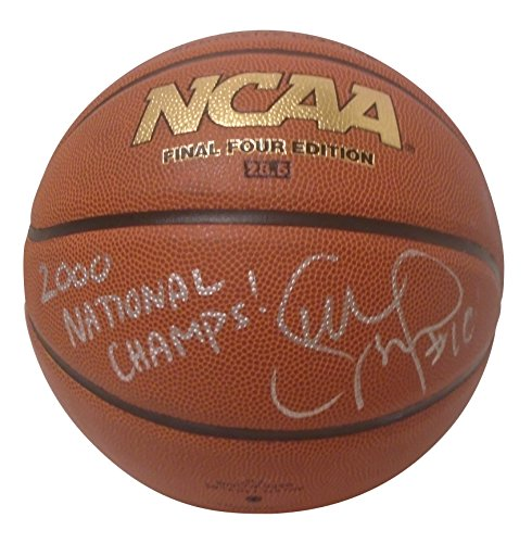 fan products of Connecticut Huskies Sue Bird Autographed Hand Signed NCAA Wilson Basketball with 2000 National Champs Inscription and Proof Photo of Signing, Seattle Storm, Dynamo Moscow, Spartak, COA