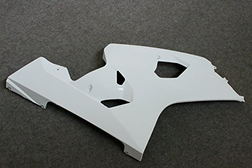 ZXMOTO Unpainted Raw Right Side Panel Fairing for Suzuki GSXR600 GSXR750 K4 2004 - Side Right Panel Fairing