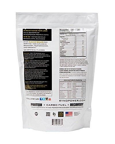 Ryno Power Premium Protein, French Vanilla, 2 Pound