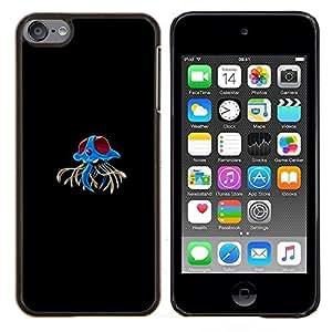 TECHCASE---Cubierta de la caja de protección para la piel dura ** Apple iPod Touch 6 6th Touch6 ** --Tentacruel P0kemon