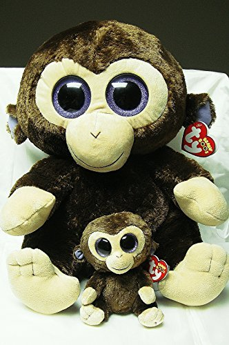 Image Unavailable. Image not available for. Color  TY Beanie Boo Large  16 quot  Plush Monkey Coconut ... 88fdc20d7b5