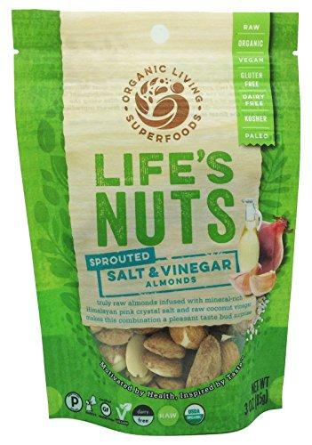 Organic Raw Sprouted Salt & Vinegar Almonds