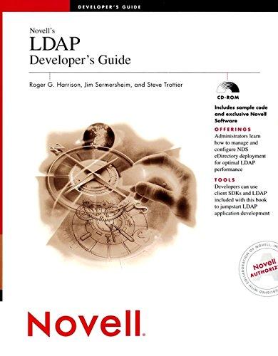 Novell's LDAP Developer's Guide