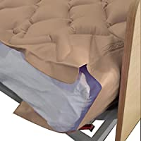 Colchón antiescaras de aire, Con compresor, PVC médico ignífugo, 200 x 90 x 7, 130 celdas, Beige, Mobi 1, Mobiclinic
