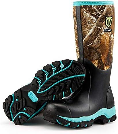 Rubber Outdoor Boot Realtree Edge Camo