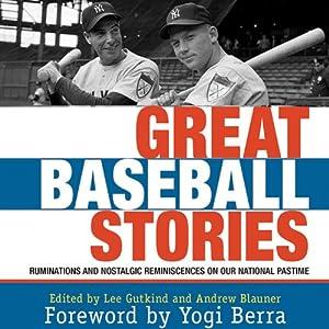 Great Baseball Stories Audiobook
