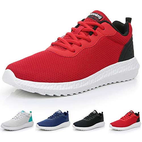 GOOBON Men s Running Tennis Sneakers Ultra Elasticity Sole Lightweight Breathable Mesh Sports Gym Jogging Fashion Athletic Casual Walking Shoes US7-12