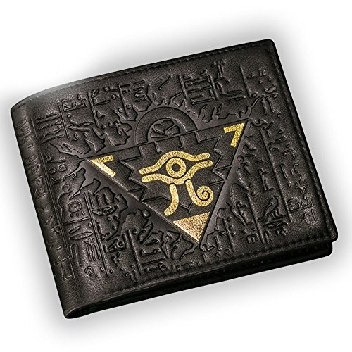 Yu-Gi-Oh! Wallet Deluxe PU Useful Cosplay Costume Accessory Prop B