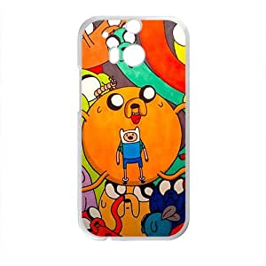 2015 popular Aadventure time Case Cover For HTC M8 Case