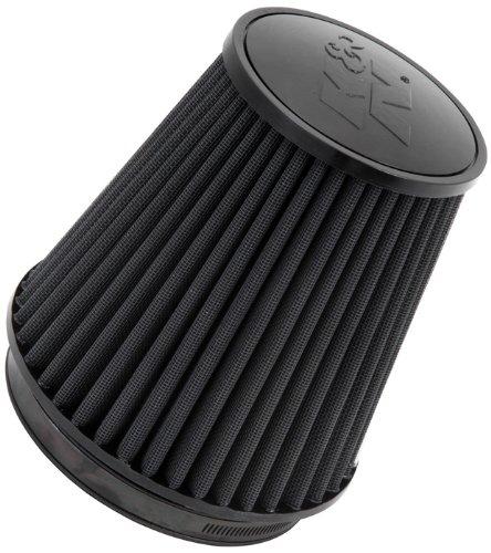 K&N Engineering RU-3101HBK Multi 6'' FLG, B, 5-1/4''T 7-1/2''H Universal Clamp-On Air Filter by K&N