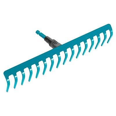Gardena 3179 Combisystem 16-Inch Metal Bow Rake Head : Garden & Outdoor