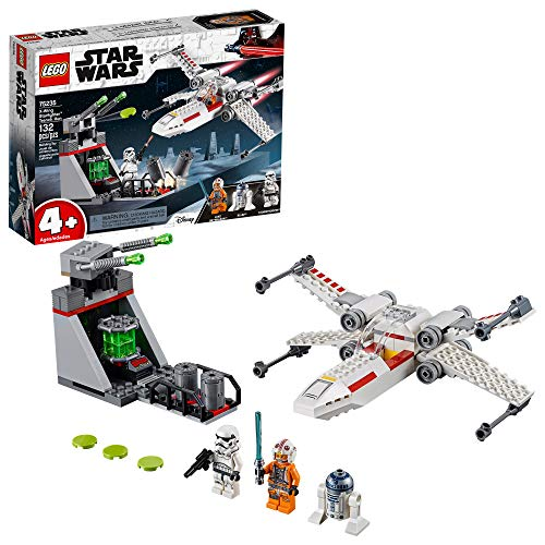 Trench Set - LEGO Star Wars X-Wing Starfighter Trench Run 75235 4+ Building Kit , New 2019 (132 Pieces)