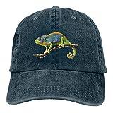 Sakanpo Chameleon Premium Cowboy Baseball Caps Trucker Hats Navy