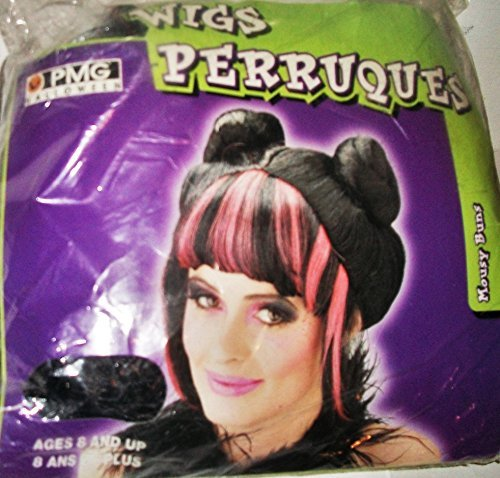 Costume Halloween Perruque (Mousy Buns)