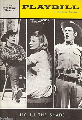 "Inga Swenson ""110 IN THE Dusk"" Stephen Douglass / Robert Horton 1963 Playbill"