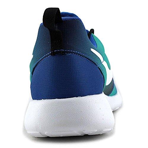 mitlc Nike Roshe One Print Running Trainers in Royal Blue & Light Retro