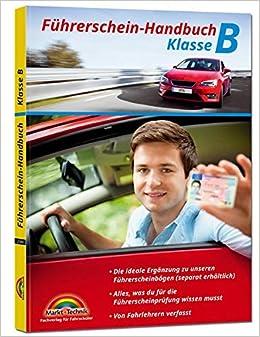 Führerschein Handbuch Klasse B Auto Top Aktuell Amazonde