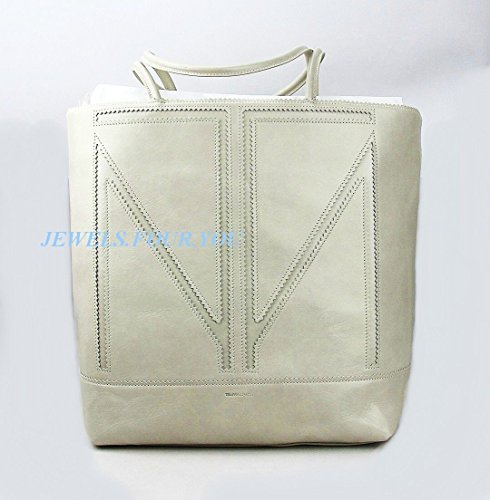 TAMARA MELLON CHIEF DESIGNER JIMMY CHOO LARGE CREAM TOTE HANDBAG NEW ITALY $1095 by Unknown