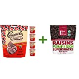 Cocomels, Organic, Coconut Milk Caramels, Expresso, 3.5 oz (100 g)( 5 PACK ) + Made in Nature, Organic Raisins, 9 oz (255 g)