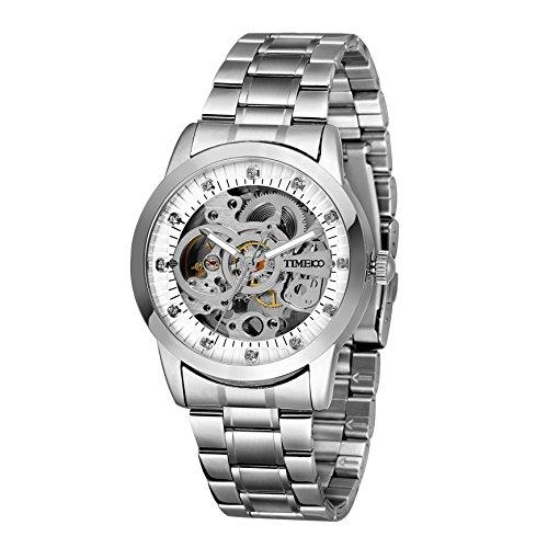 Time100-W60042G03AReloj-Automtico-esqueleto-mecnico-hueco-el-color-de-correa-acero