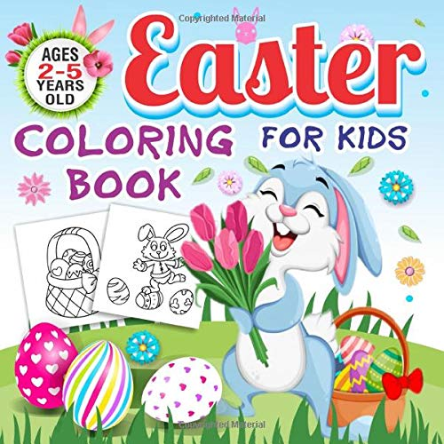- Easter Coloring Book For Kids Ages 2-5 Years Old: Toddlers & Preschool Fun  Easter Stuff Coloring Pages Bunny, Big Egg, Funny Animals & More: Clever  Kids Lab: 9781952573699: Amazon.com: Books