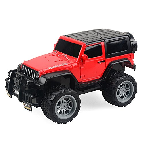 Balai RC Car Remote Control Off-road Racing Car Radio Controlled Vehicle 1:18 2WD Electric Rechargable Truck Red, Best Xmas Gift for Kids Adults