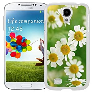 New Beautiful Custom Designed Cover Case For Samsung Galaxy S4 I9500 i337 M919 i545 r970 l720 With Nature Little Daisy Macro (2) Phone Case