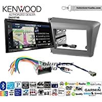 Volunteer Audio Kenwood DNX574S Double Din Radio Install Kit with GPS Navigation Apple CarPlay Android Auto Fits 2011-2016 Honda Odyssey