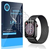 Wireless : LK [6 Pack] Screen Protector for Apple Watch 40mm Series 4/5 - Max Coverage Bubble-Free Anti-Scratch iWatch 40mm Flexible TPU Clear Film