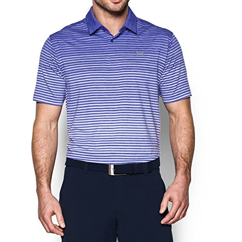 Under Armour Men's CoolSwitch Trajectory Polo, Purple Chic/Purple Chic, X-Large