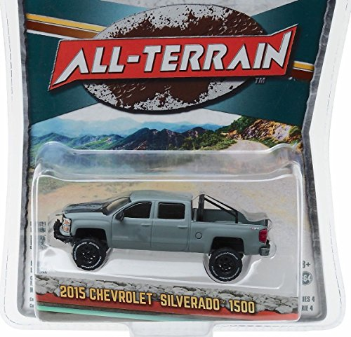 New 1:64 ALL-TERRAIN SERIES 4 - GREY 2015 15 CHEVROLET