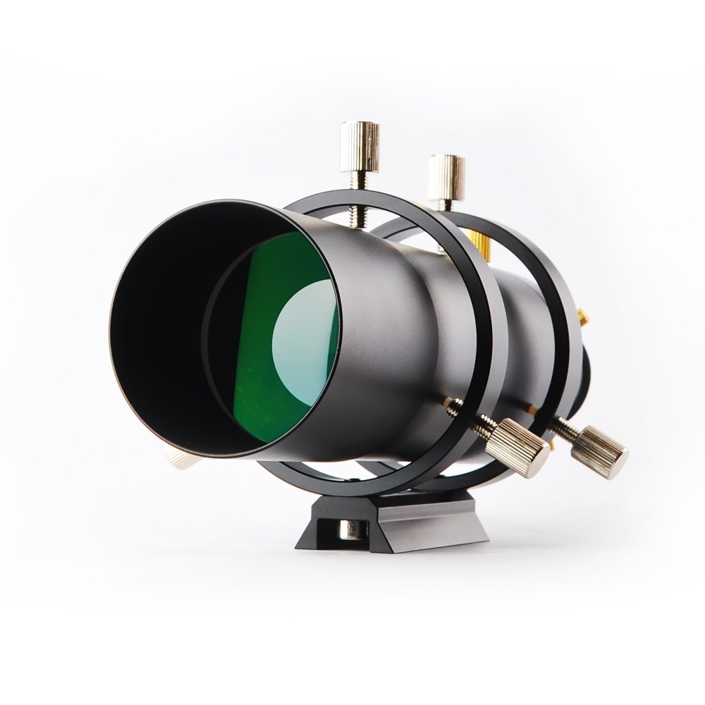 Solomark F60 60mm Guidescope 215mm Focal Length, F/3.6 Focal Ratio, Fully Coated w/Helical Focuser by SOLOMARK