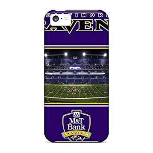 Premium Protection Baltimore Ravens Cases Covers For Iphone 5c- Retail Packaging