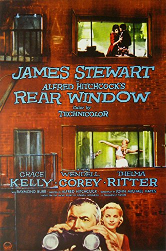 "Rear Window  Movie Poster 24""x36"""