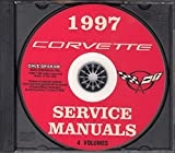 A MUST FOR RESTORERS - 1997 CHEVY CORVETTE REPAIR SHOP & SERVICE MANUAL CD For Coupe, Convertible, Collector's Edition and Grand Sport