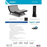 NEW 2017 LEGGETT & PLATT PRODIGY 2 NOW WITH BLUETOOTH AND USB PORTS (SPLIT CAL KING)