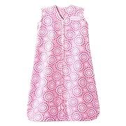 Halo SleepSack Wearable Baby Blanket, Micro-Fleece (Small, Petal Swirl Pink)